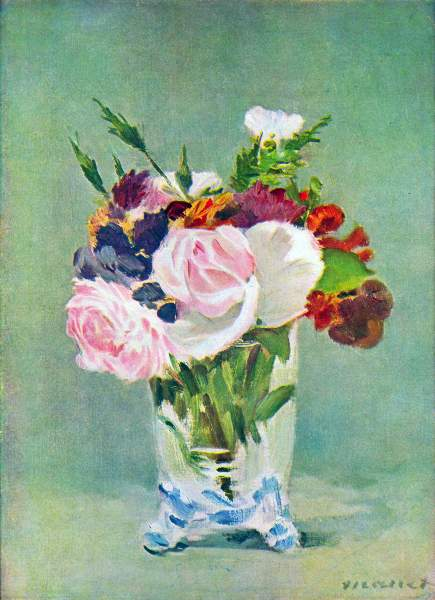Manet - Still Life with Flowers [2]